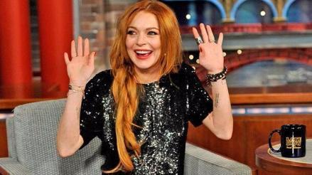 Lindsay Lohan expresó su deseo de ser presidenta de EE.UU.