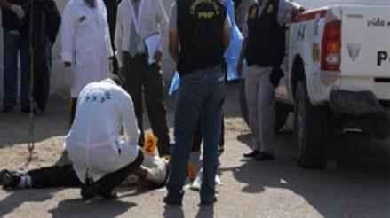 Lambayeque: asesinan de un disparo en la cabeza a humilde agricultor