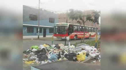 SJL: vecinos continúan protesta por falta de recojo de basura