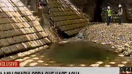 """Planta de tratamiento de agua de Huachipa empezó a """"desmoronarse"""""""