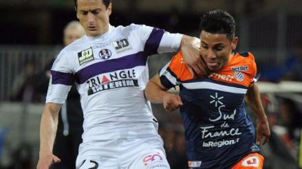 Jean Deza completó 90 minutos de juego en igualdad a cero de Montpellier con Bordeaux