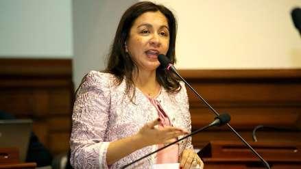 Marisol Espinoza renunció a bancada Nacionalista-Gana Perú este lunes