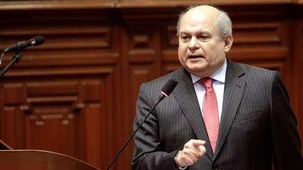 """Cateriano aclara: """"Espinoza no ha renunciado a la Vicepresidencia"""""""