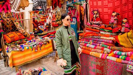 Katy Perry: nuevas imágenes de su recorrido por el Cusco