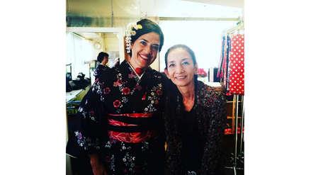 Wendy Ramos disfruta de sus vacaciones en Japón