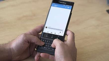 BlackBerry presentó el nuevo Android PRIV