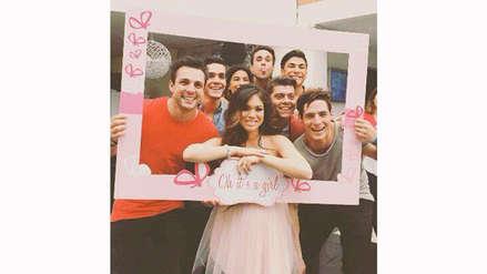 Jazmín Pinedo celebró baby shower de su primera hija