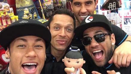 Barcelona: Neymar y compañía se burlan del nuevo peinado de un compañero