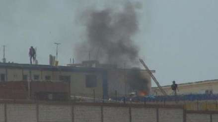 Chiclayo: protestan por traslado de reos a otros penales luego de incendio