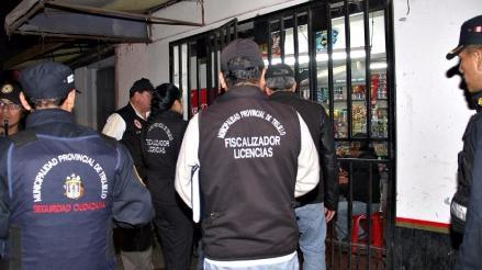 Trujillo: Multa de mil 347 soles a bodegas que vendan licor sin permiso