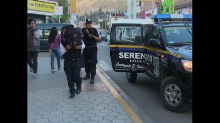Huancayo: hallan a dos escolares ingiriendo licor bajo un puente