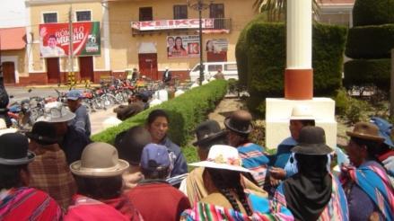 Yunguyo: denuncian que programa 'Mi Perú' no favorece a necesitados