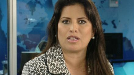 Comisión de Ética recomienda suspender por 30 días a Carmen Omonte