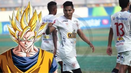 Universitario: Raúl Ruidiaz se 'convierte' en sayayin por la camiseta crema