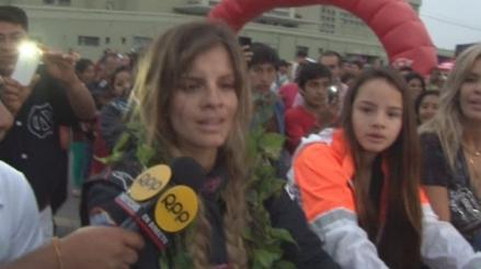 Caminos del Inca: Alejandra Baigorria llegó a la meta empujando su auto