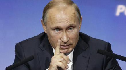 Vladímir Putin: Los terroristas planean desestabilizar regiones enteras