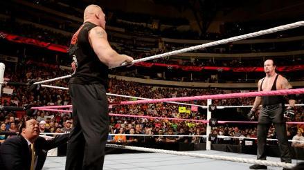 WWE: Brock Lesnar se acobardó ante las amenazas de The Undertaker