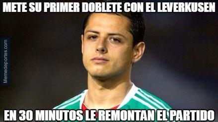 Champions League: los mejores memes de la fecha y el bullying a Chicharito