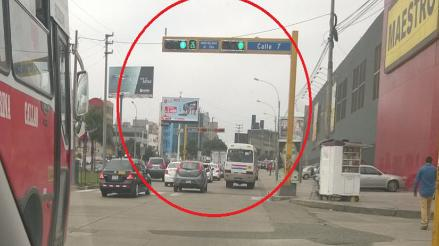 San Miguel: semáforos no sincronizados generan riesgo y congestión