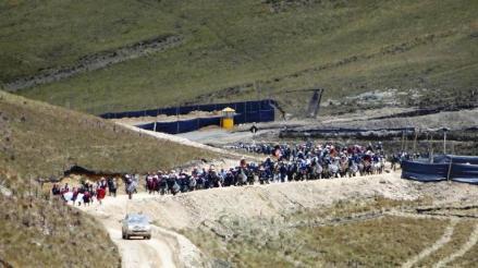 Ambientalistas inspeccionan lagunas de Conga en Cajamarca