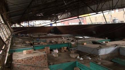 El Niño: Mercado Central de Trujillo se cae a pedazos