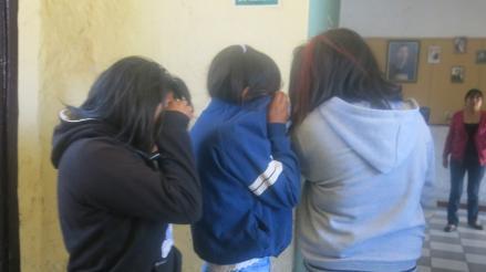 Tres escolares fueron intervenidas tras robar vestidos en centro comercial