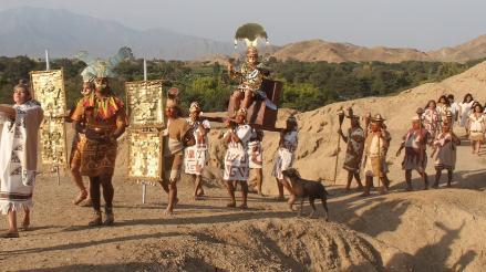 Lambayeque: de los Mochicas a los Incas en producción audivisual