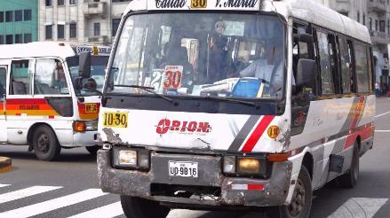 Retirarán de Javier Prado a Orión y rutas que se conecten con Callao