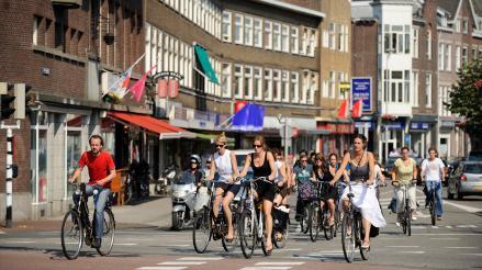 Cada holandés recorrió una media de mil kilómetros en bicicleta en 2014