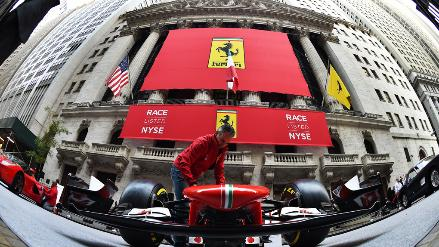 Klart for ferrari pa wall street