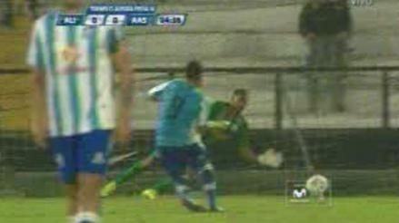 Alianza Lima vs. Alianza Atlético: 'Malingas' falló un penal a los 3 minutos