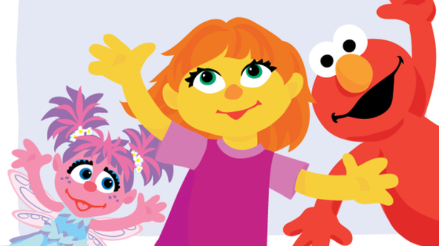Plaza Sésamo presentó al primer muppet autista