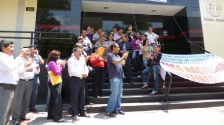 Trabajadores judiciales anunciaron paralización de sus labores