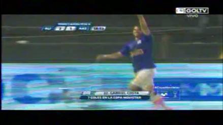 Alianza Lima vs. Alianza Atlético: Gabriel Costa corrigió su error y marcó el segundo para los íntimos
