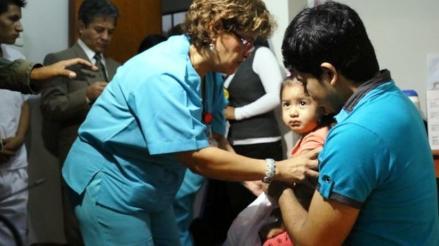 Vacunan a más del 50% de niños menores de 5 años contra neumonía