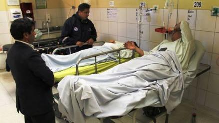 Vuelco de camioneta dejó un muerto y siete heridos