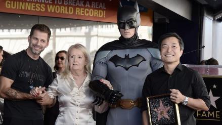 Creador de Batman recibió su estrella de Hollywood póstumamente