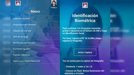 Reniec permite cambiar dirección en DNI a través del smartphone