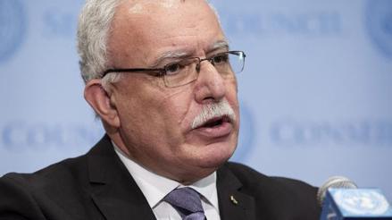 Palestina pide a la ONU que asuma su responsabilidad en Oriente Medio
