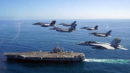 Aviones de Chile y EEUU realizan ejercicio conjunto Blue Sky V