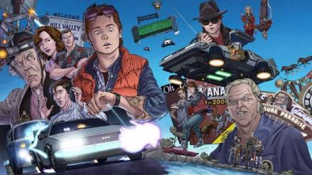 Volver Al Futuro: presentan cómic de la película