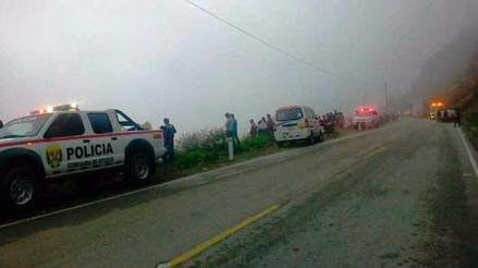 Lluvias causan accidente: cuatro heridos por despiste de auto en Otuzco