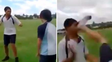 YouTube: víctima bullying sorprendió a su agresor con técnica de MMA