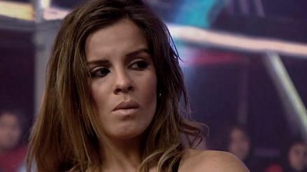 Combate: Alejandra Baigorria lloró al ser sancionada por