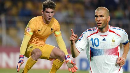 Zinedine Zidane se puede sentir orgulloso de su hijo luego de este lujo