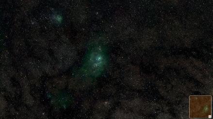 Lanzan sitio web para 'viajar' por la Vía Láctea