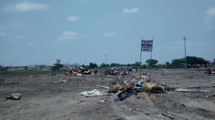 Invasores amenazan con volver a ocupar predio cercano a penal de Chiclayo