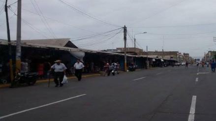 Chiclayo: ambulantes desalojados iniciarán una serie de medidas para volver