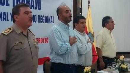 Ministro del Interior recorre comisarías de Lambayeque por ´El Niño´