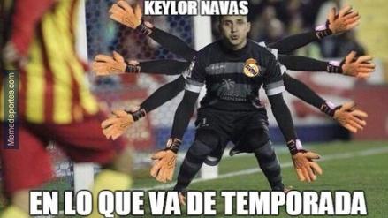 Real Madrid: Keylor Navas protagoniza memes tras gran actuación ante Celta